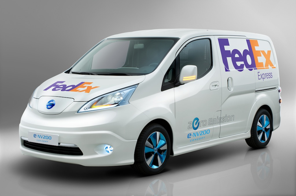 Nissan e-NV200 Electric Van Headed To U.S. For Testing