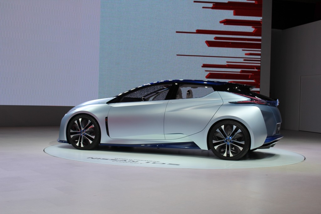 Perfect Nissan IDS Concept 2015 Tokyo Motor Show