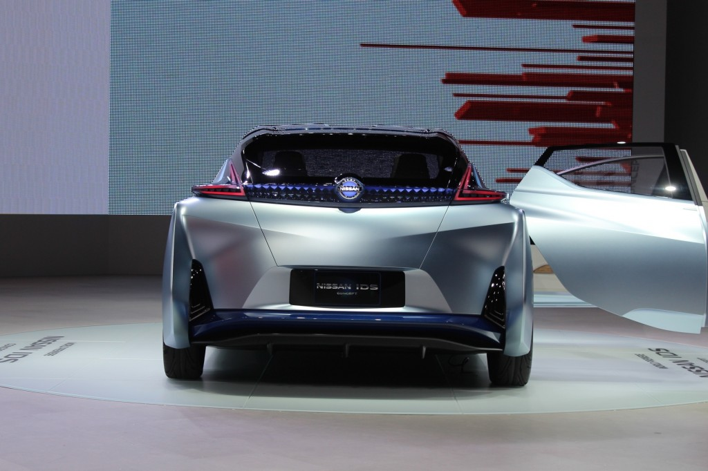 Awesome Nissan IDS Concept 2015 Tokyo Motor Show