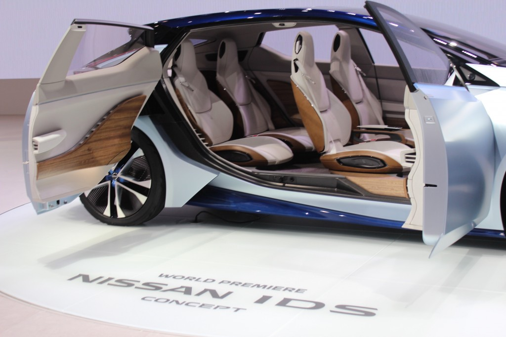 New Nissan IDS Concept 2015 Tokyo Motor Show