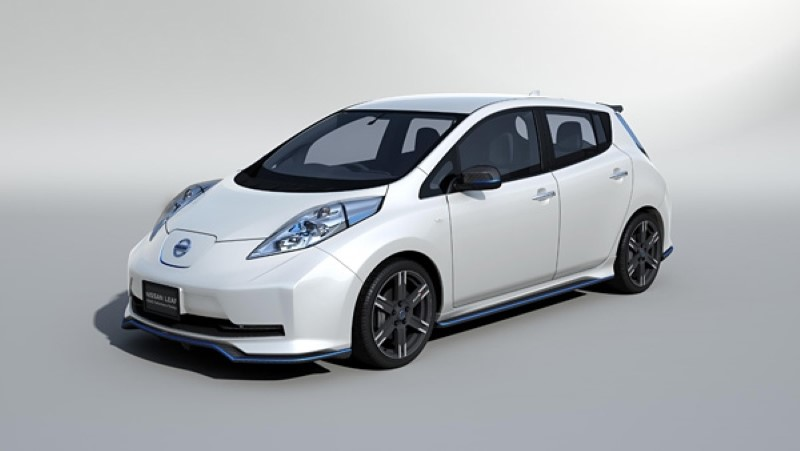 Nismo Offers To Chip Your Leaf Electric Car For Better