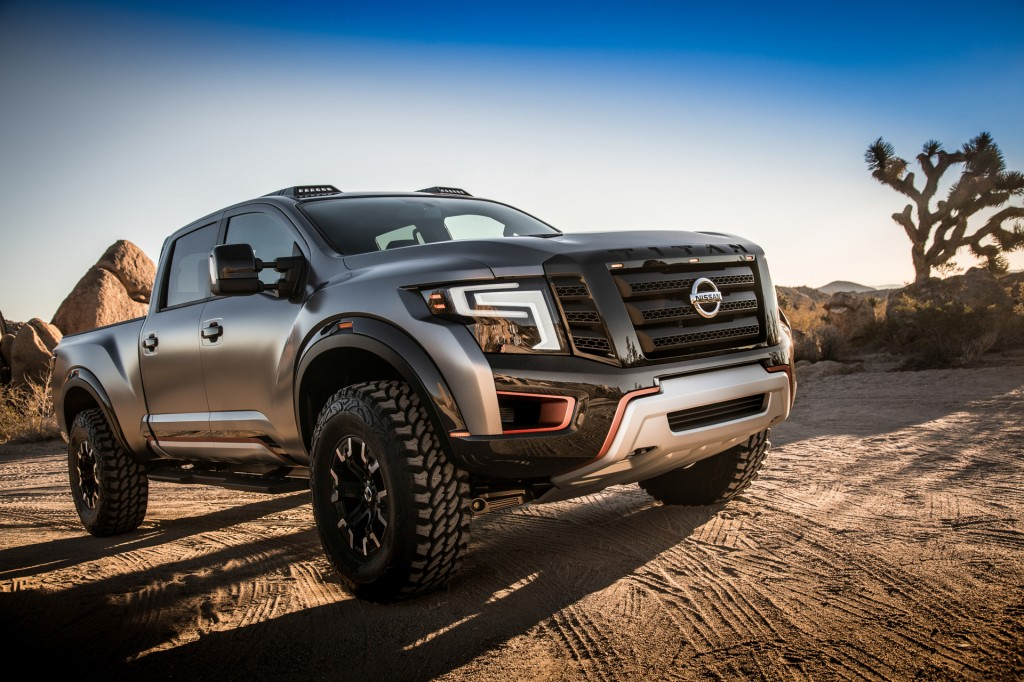 image nissan titan warrior concept 2016 detroit auto show size 1024 x 682 type gif posted. Black Bedroom Furniture Sets. Home Design Ideas