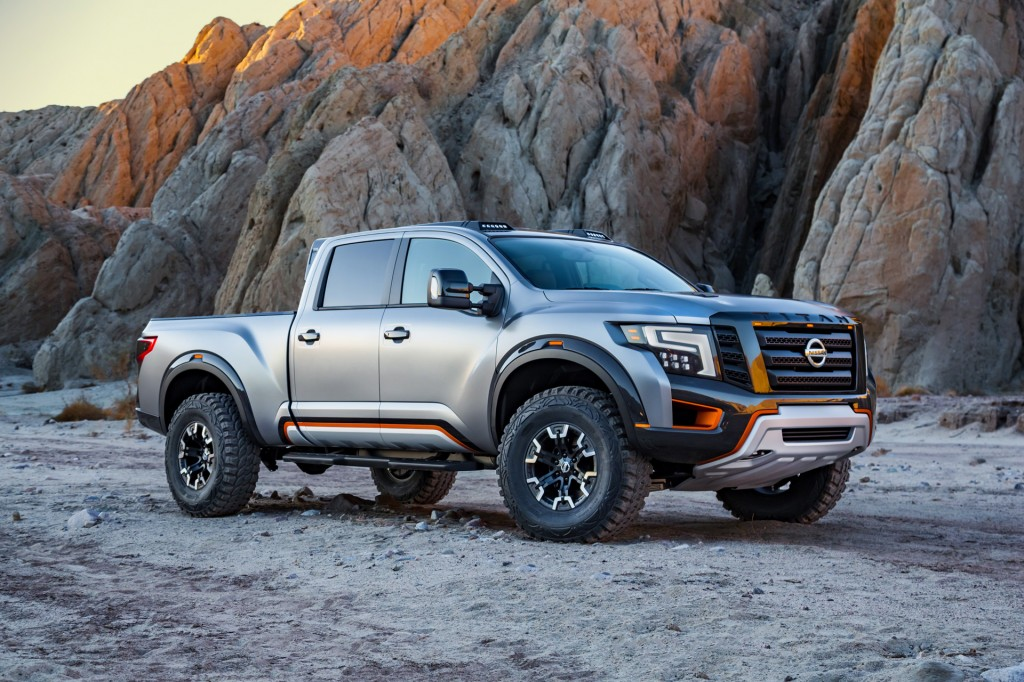 Beautiful Image Nissan Titan Warrior Concept 2016 Detroit Auto