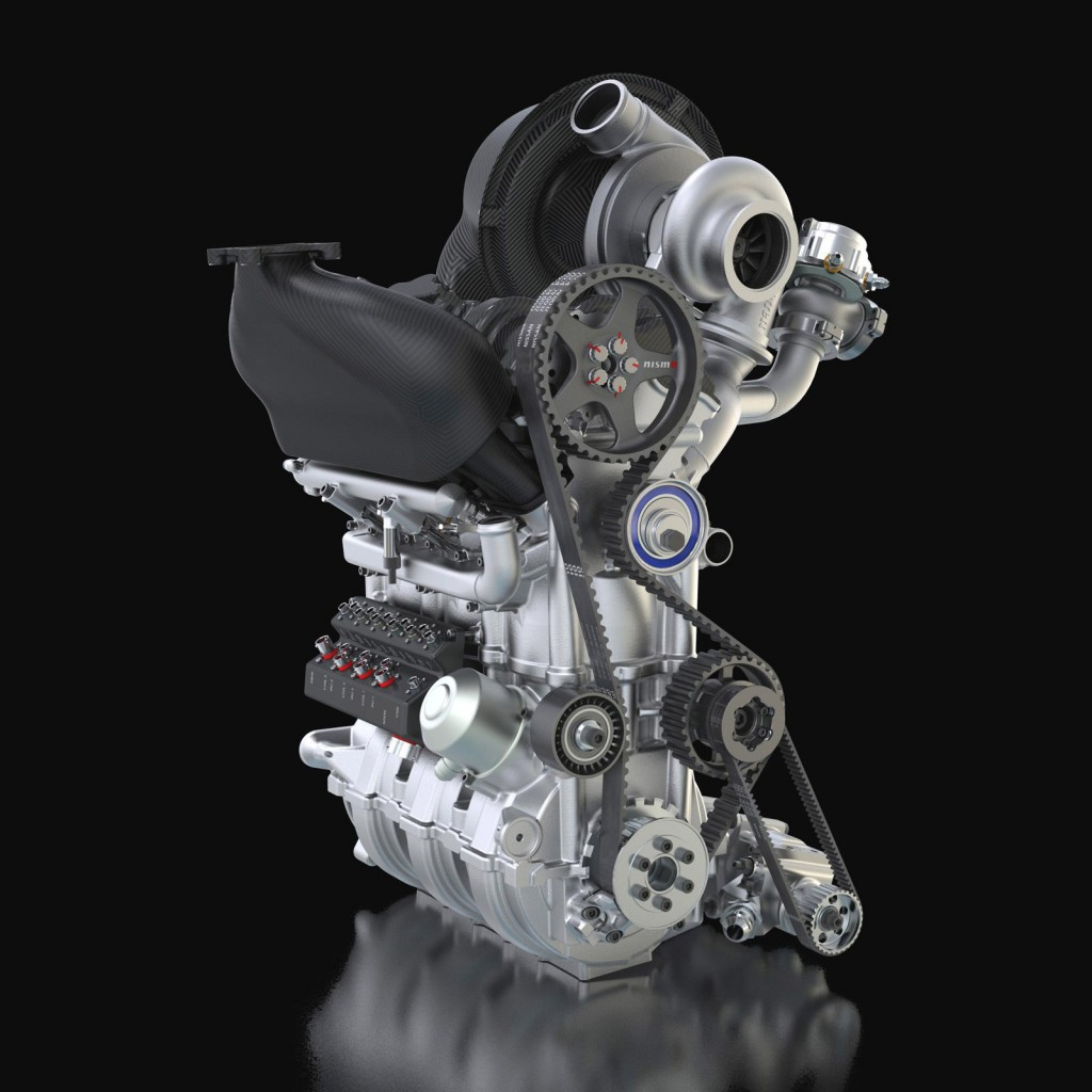 Nissan Reveals Zeod Rc S 400 Hp 3 Cylinder Engine