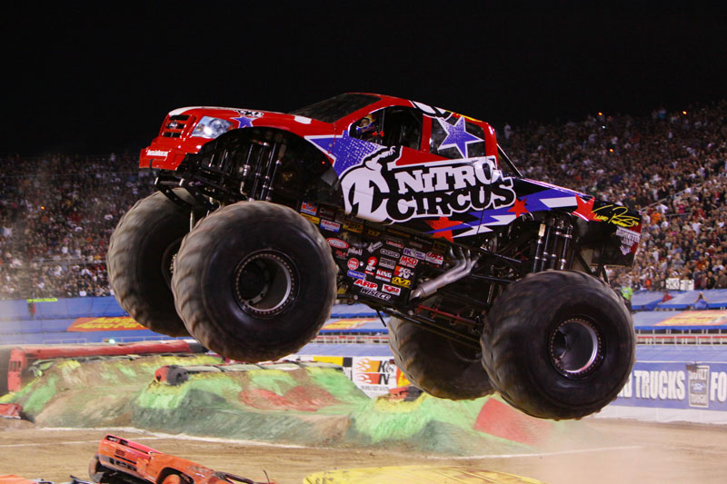 travis pastrana to drive monster truck video. Black Bedroom Furniture Sets. Home Design Ideas