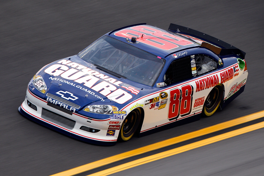 No. 88 National Guard Chevrolet - NASCAR photo