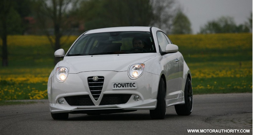 novitec rosso downsizes with tuned alfa romeo mito. Black Bedroom Furniture Sets. Home Design Ideas