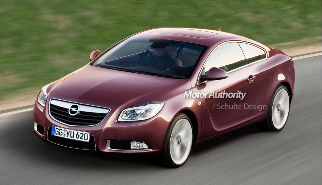 preview opel insignia 39 gtc 39 coupe. Black Bedroom Furniture Sets. Home Design Ideas