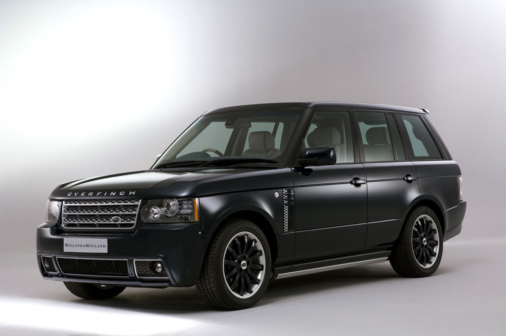 holland holland range rover by overfinch launches. Black Bedroom Furniture Sets. Home Design Ideas