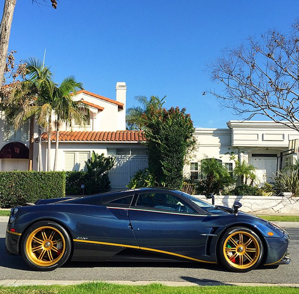 One Off Pagani Huayra 730 S Delivered To New Owner