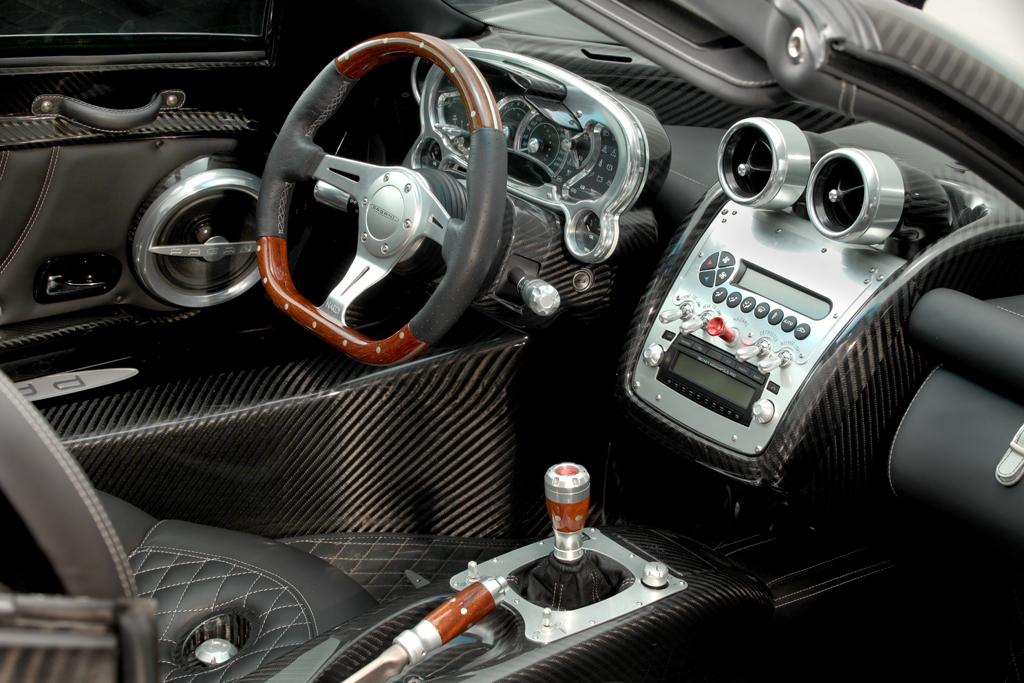 Pagani Zonda F Clubsport Roadster Final Edition Up For Sale