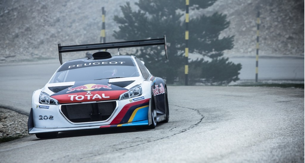 peugeot 208 t16 readies for pikes peak video. Black Bedroom Furniture Sets. Home Design Ideas