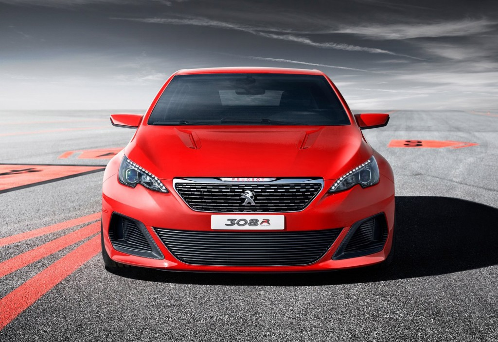peugeot 308 r concept previews french golf gti and focus. Black Bedroom Furniture Sets. Home Design Ideas