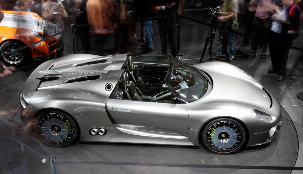 porsche 918 spyder concept to make goodwood appearance. Black Bedroom Furniture Sets. Home Design Ideas