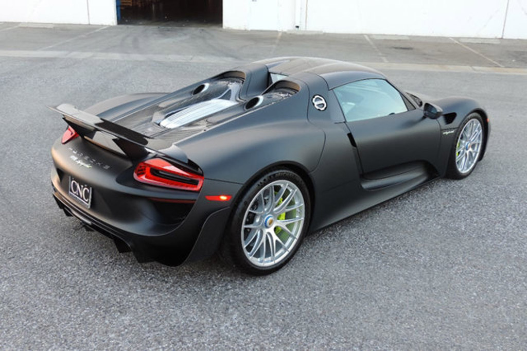 image porsche 918 spyder for sale at californian. Black Bedroom Furniture Sets. Home Design Ideas