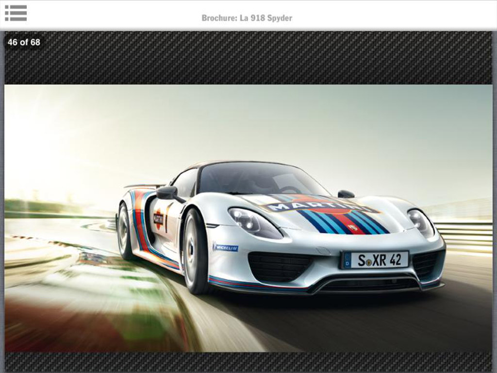 porsche 918 spyder specs and interior revealed in leaked brochure. Black Bedroom Furniture Sets. Home Design Ideas