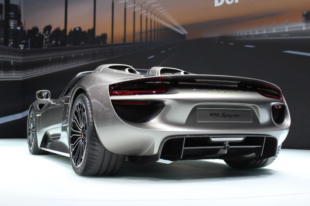 porsche 918 spyder 2013 frankfurt auto show. Black Bedroom Furniture Sets. Home Design Ideas