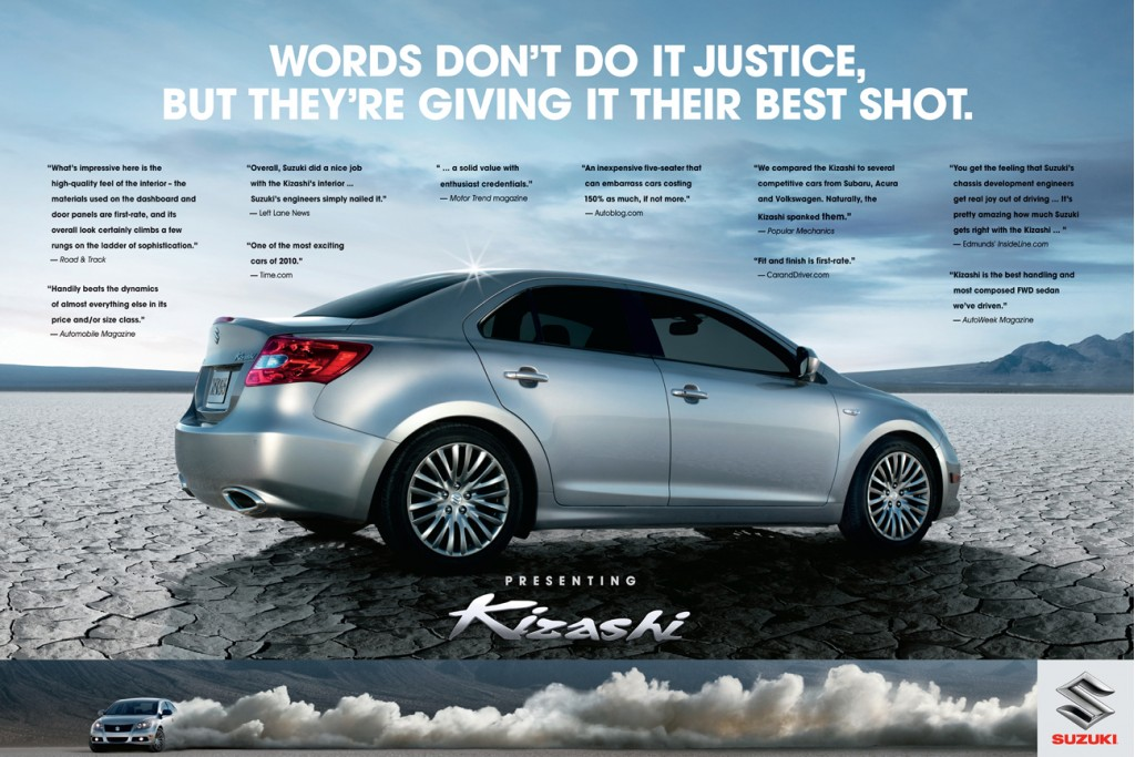 Image Print Ad For The 2011 Suzuki Kizashi Size 1024 X 683 Type Gif Posted On February 25