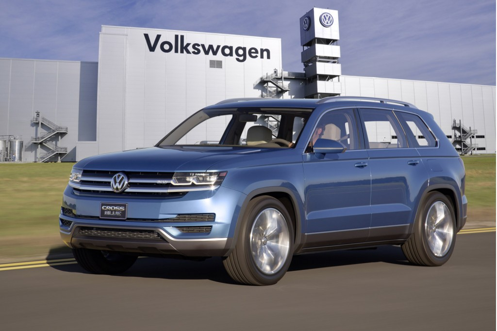 Production version of VW's CrossBlue concept to be built in
