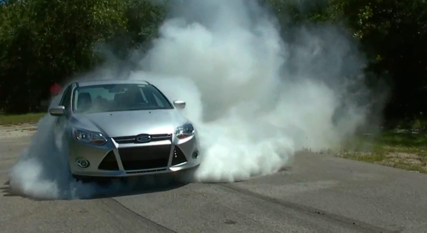 Why Yes The Ford Focus Can Do A Two Minute Burnout Video