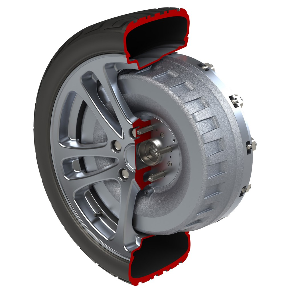 Protean In Wheel Electric Motor To Enter Production In 2014