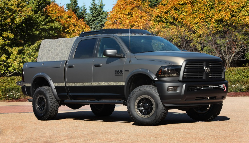 Beautiful Image Ram 2500 Outdoorsman 2014 SEMA Size 1024 X 589