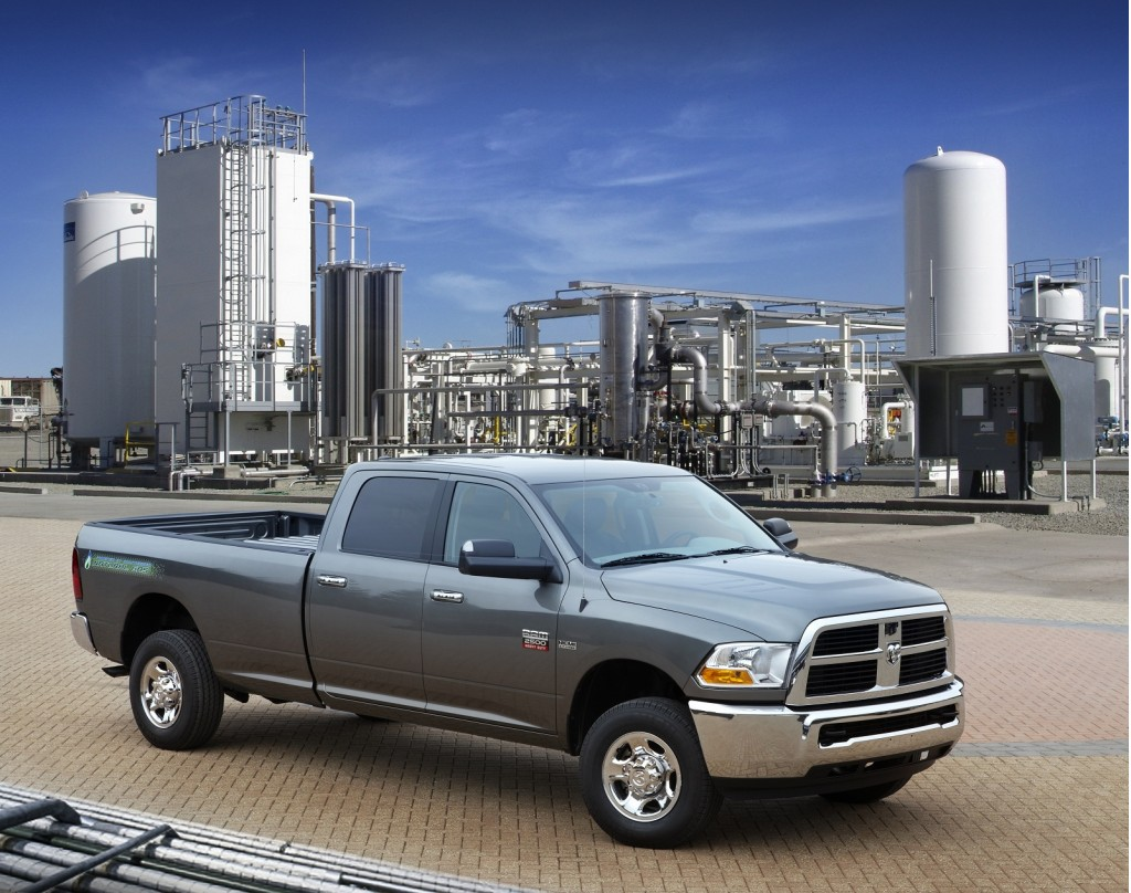 Ram To Offer Natural-Gas HD Pickup Trucks, Joining Chevy, GMC
