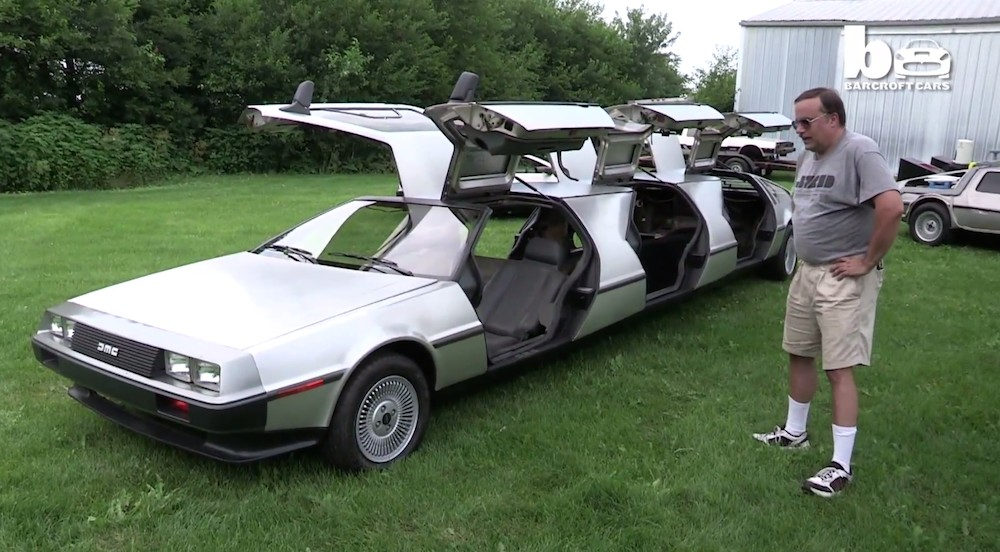 This Man S Delorean Delusions Are Simply Brilliant Video