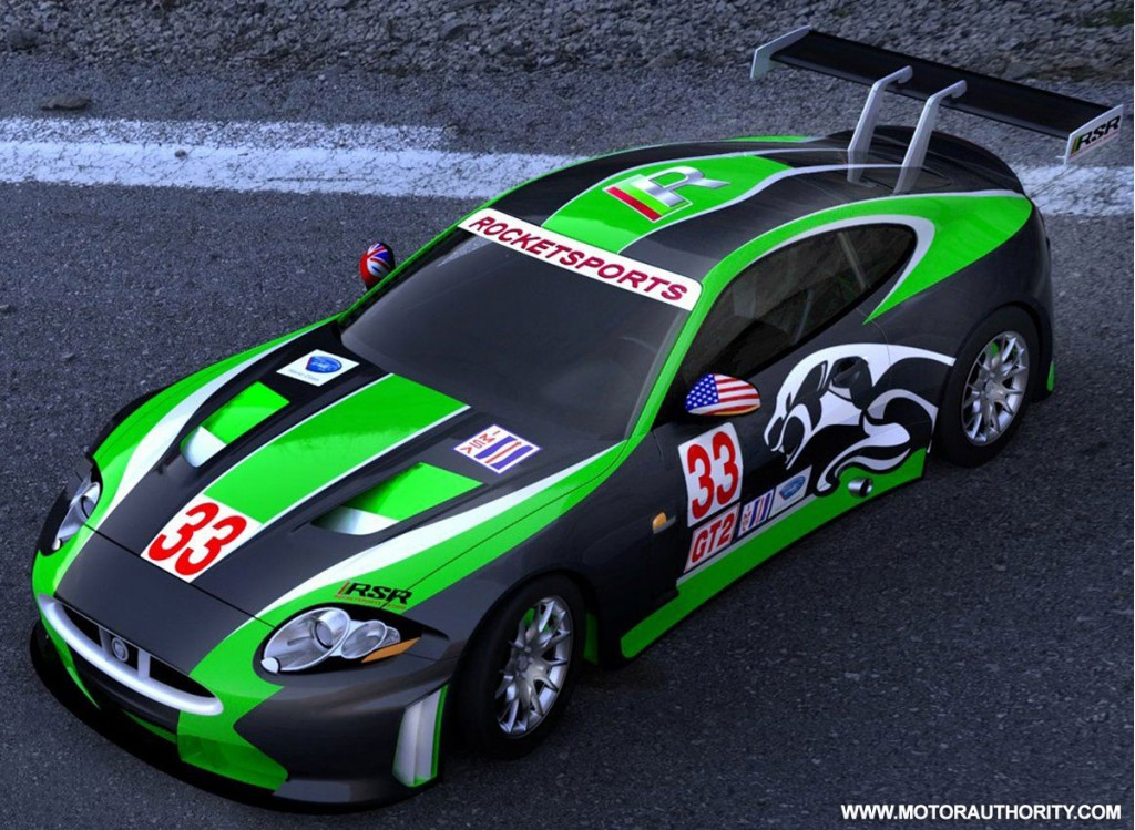 Rocketsports Racing to tackle ALMS with new Jaguar XKR GT2 ...