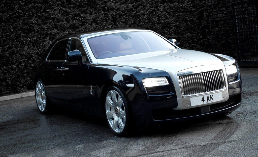 A Kahn Design Commences Customization Of Rolls Royce Ghost