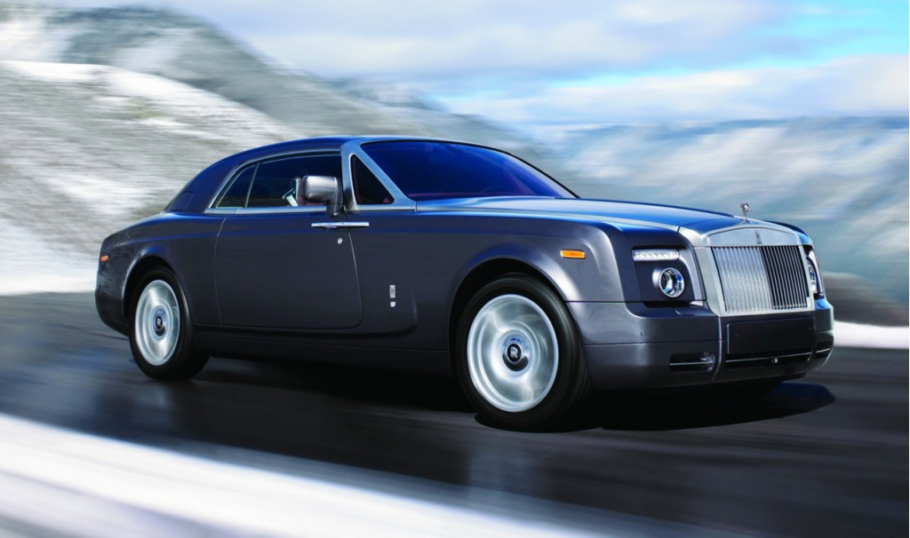Epa Says 5 771 Pound Rolls Royce Phantom Coupe Is A