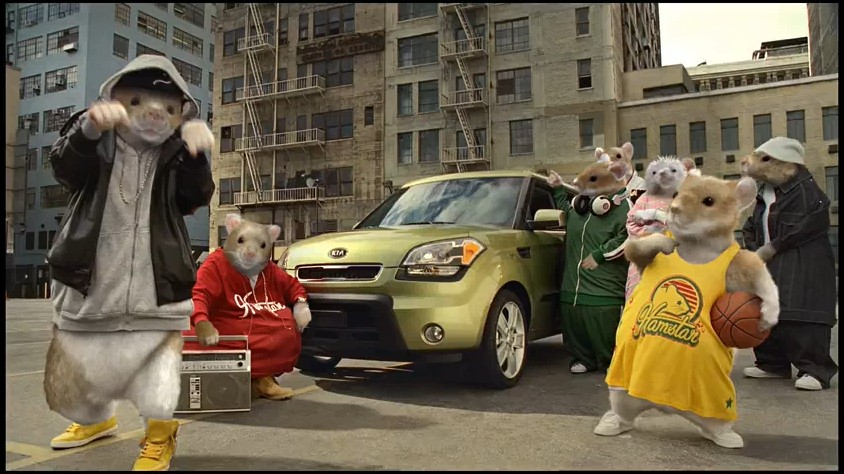 Video Kia Sells Its Soul With Hip Hop Hamsters