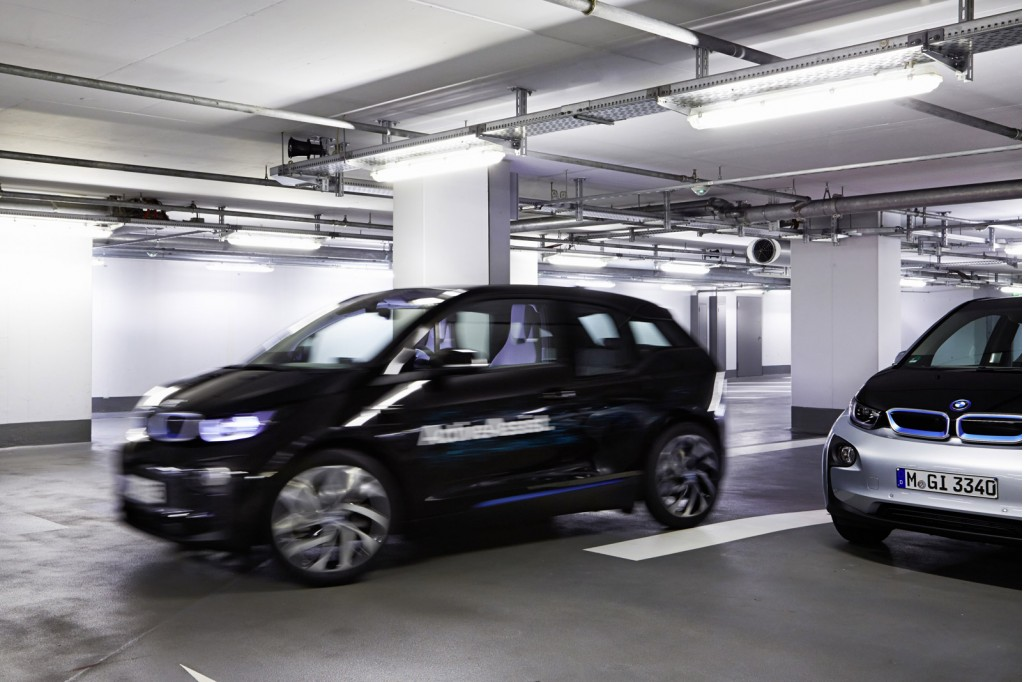 Excellent Selfparking BMW I3 ActiveAssist Prototype 2015 Consumer Electronics
