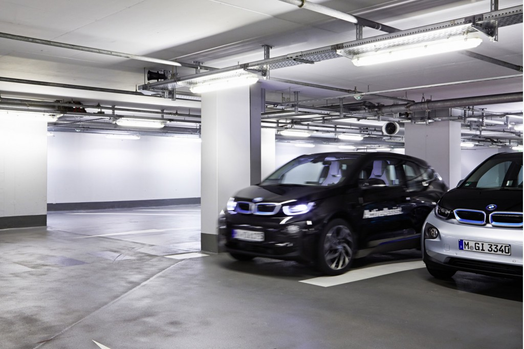 Innovative Selfparking BMW I3 ActiveAssist Prototype 2015 Consumer Electronics