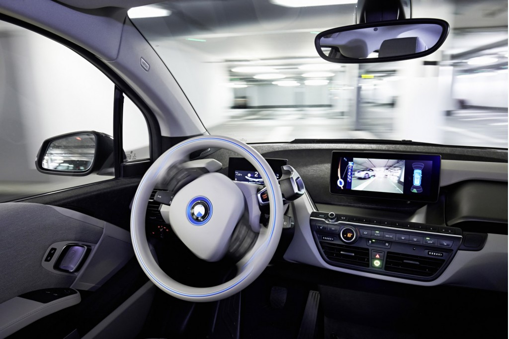 Beautiful Selfparking BMW I3 ActiveAssist Prototype 2015 Consumer Electronics