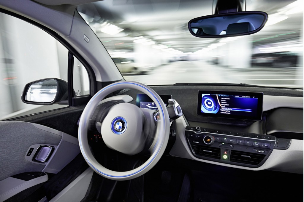 Unique Selfparking BMW I3 ActiveAssist Prototype 2015 Consumer Electronics