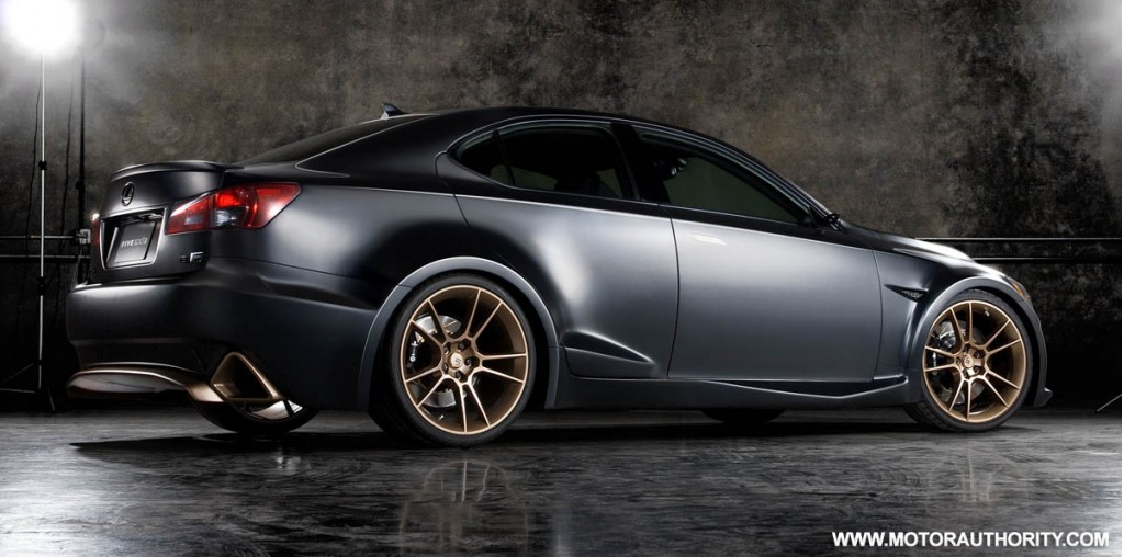 Lexus Previews Modified Is F Range Planned For Sema