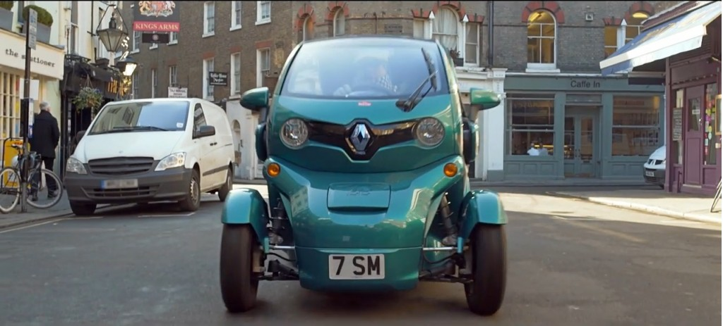 Sir Stirling Moss Loves Tiny Cars Drives A Twizy Video