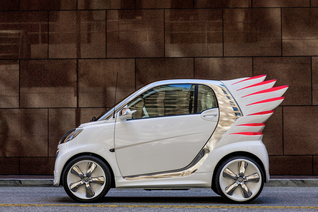 Smart 'ForJeremy' Electric Drive Looks Ready To Fly