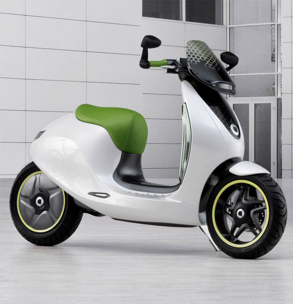 Smart Pairs With Vectrix For 2014 Electric Scooter
