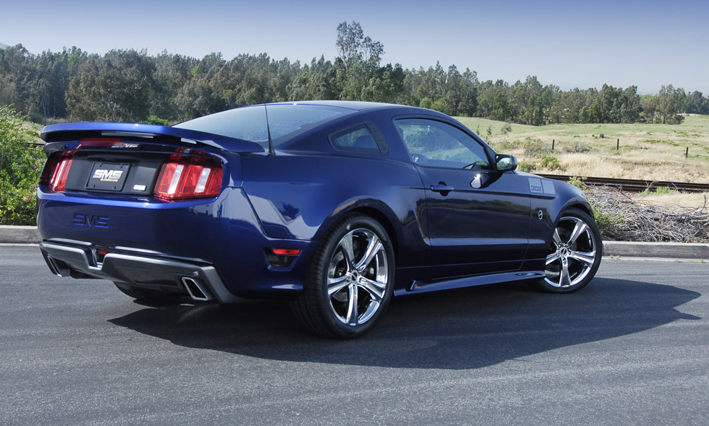 2011 Ford Mustang Gt Gets Sms Supercars Treatment