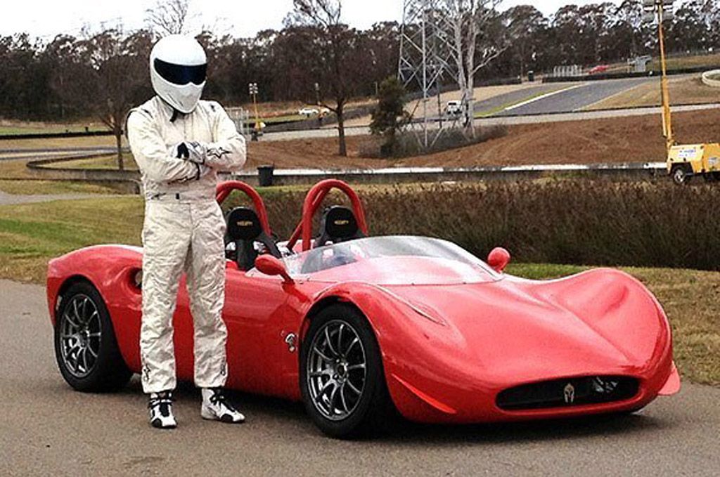 Track A Car: Spartan Track Car Ready For Action: Video