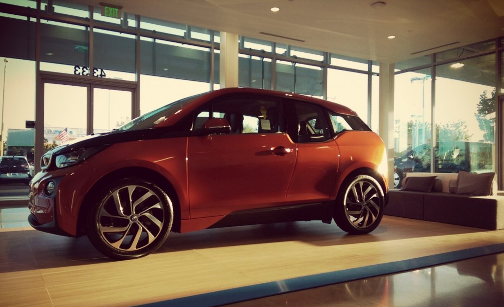 First Standalone BMW Electric Car Sales Facility Opens In