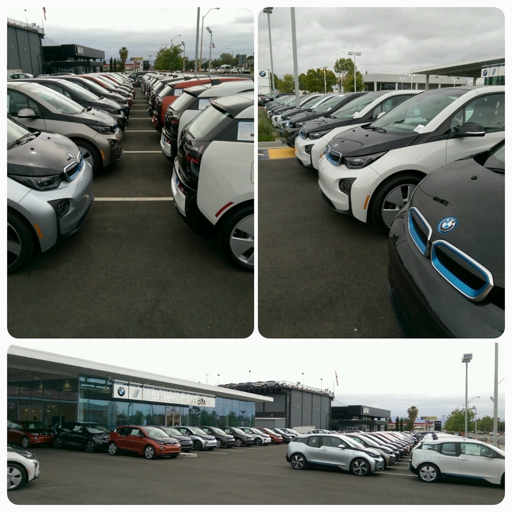 First Standalone BMW Electric-Car Sales Facility Opens--In