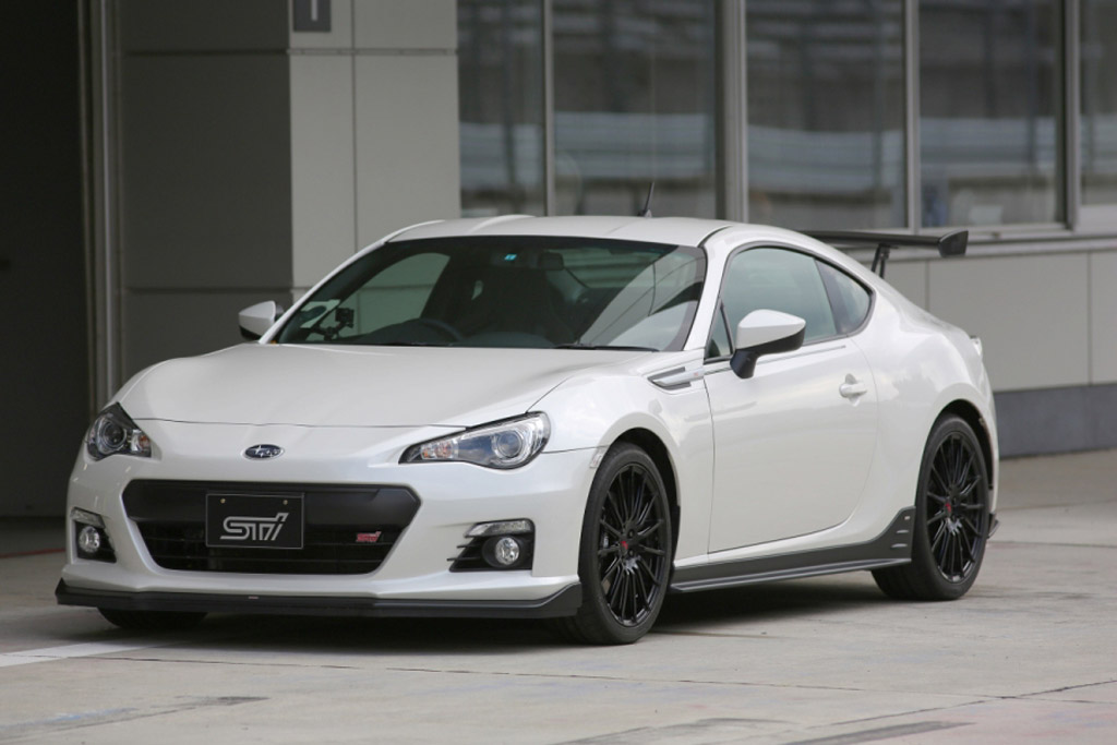 Subaru Brz Ts Concept Isn T The Brz Sti We Were All Hoping For