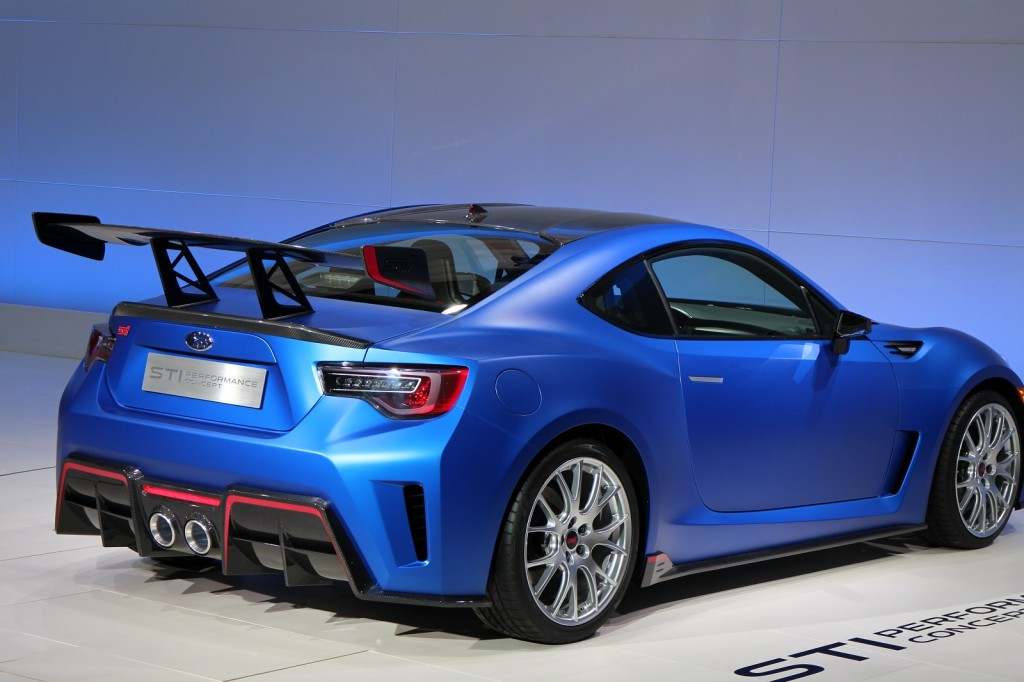 Subaru STI Performance Concept - 2015 New York Auto Show