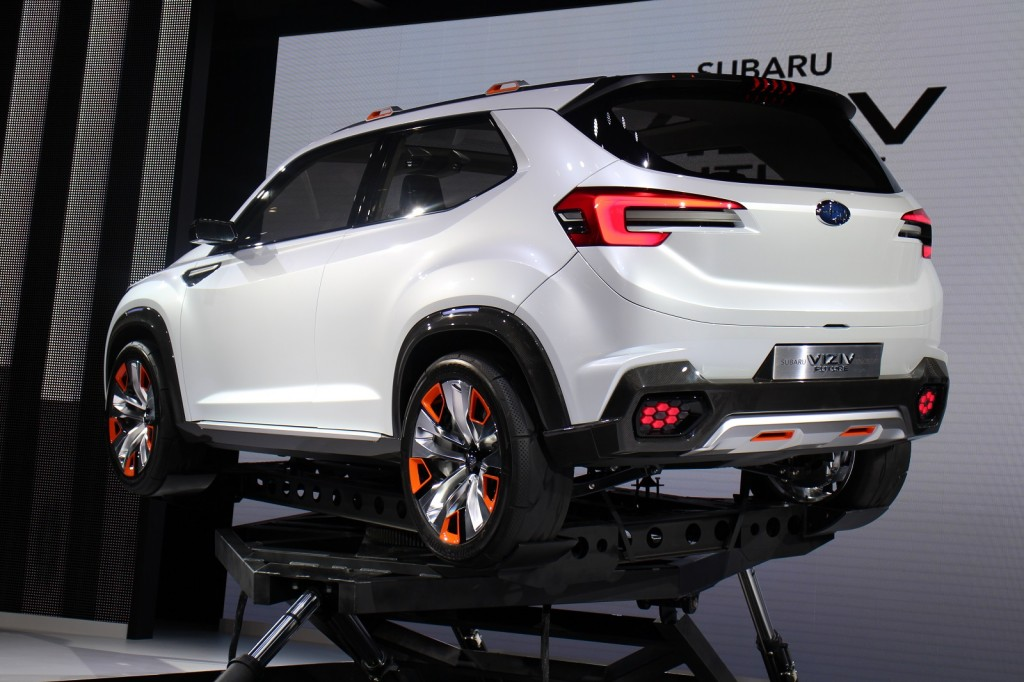 subaru forester previewed by viziv future concept between the subaru ...