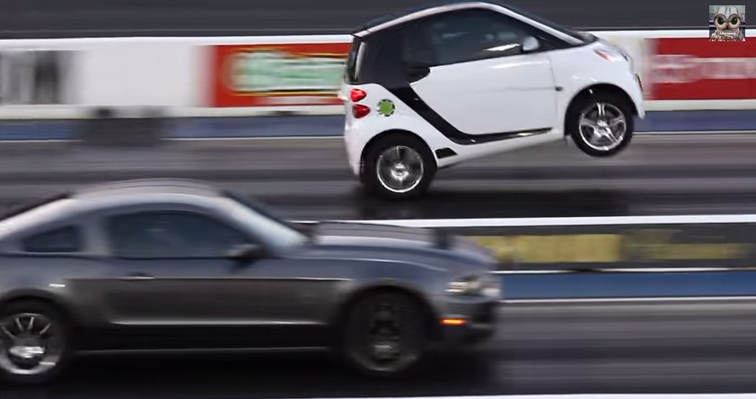 Who Needs A Big Block Supercharged Smart Car Does