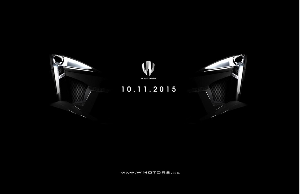 W Motors Bringing New Fenyr Supersport To Dubai Motor Show