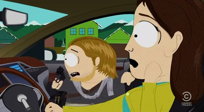 South Park Doesn T Think Too Highly Of The Tesla Model S